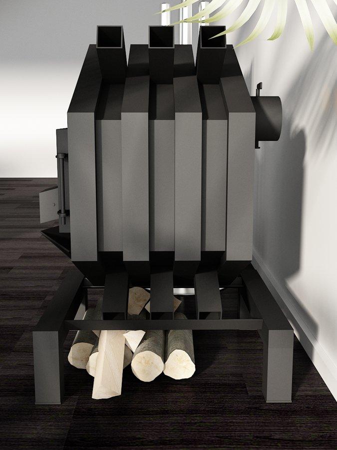 Печь для отопления BM01, 200 m³