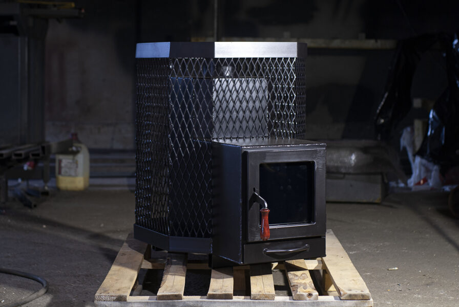 Sauna stove 01 long, 17kw